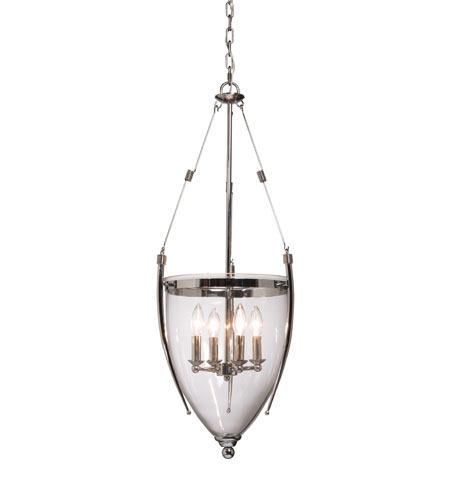 Artcraft Lighting Apothecary 4 Light Pendant in Chrome AC1700CH photo