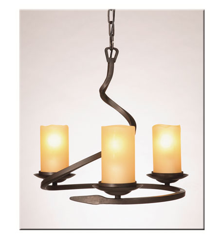 Artcraft Lighting Candlelight 4 Light Chandelette in Oil Rubbed Bronze AC1703AM photo