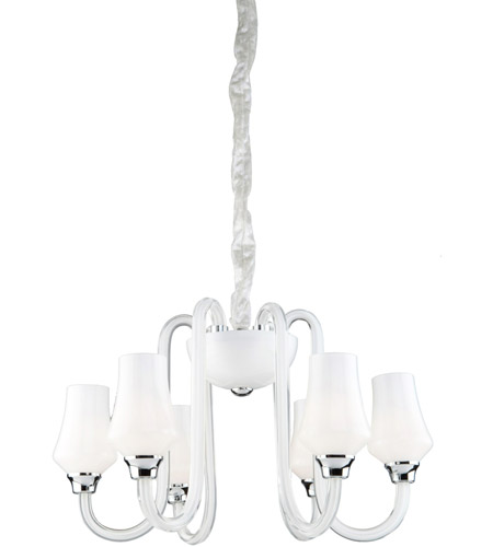 Artcraft AC1736 Milano 6 Light 20 inch Chandelier Ceiling Light photo
