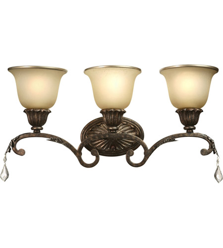 Artcraft Lighting Florence 3 Light Bathroom Vanity in Bronze AC1838 photo