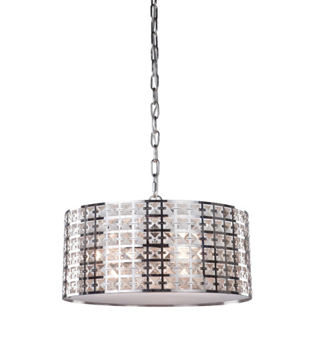 Artcraft AC193 Coventry 3 Light 15 inch Chrome Chandelier Ceiling Light photo