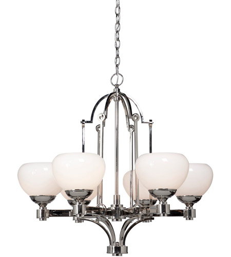 Artcraft Lighting Lincoln 6 Light Chandelier in Chrome AC1986 photo