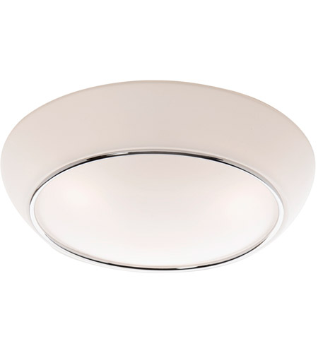 Artcraft AC2151 Signature 2 Light 12 inch Chrome Flush Mount Ceiling Light photo