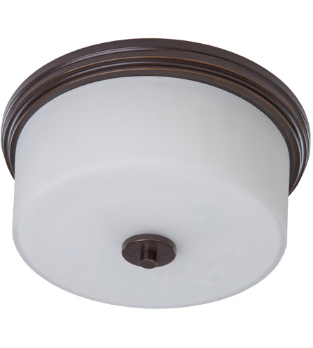 Artcraft AC2193OB Russell Hill 2 Light 15 inch Oil Rubbed Bronze Flush Mount Ceiling Light photo
