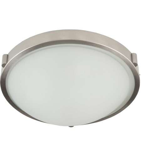 Artcraft AC2310BN Boise 1 Light 10 inch Brushed Nickel Flush Mount Ceiling Light photo
