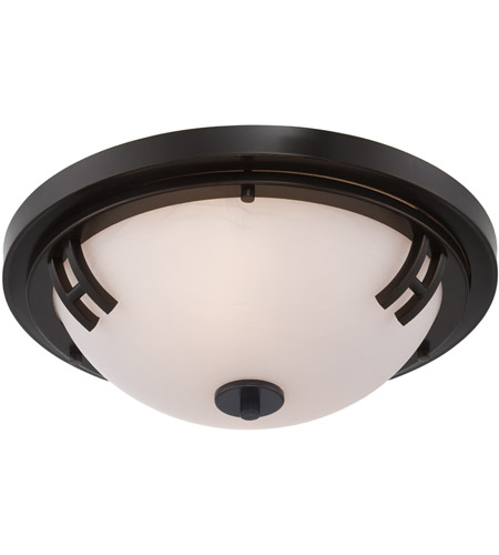 Artcraft Lighting Andover 2 Light Flush Mount in Oil Rubbed Bronze AC2331OB photo