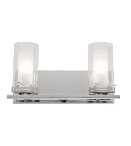 Artcraft Lighting Westmount 2 Light Bathroom Vanity in Chrome AC252 photo