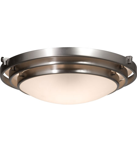 Artcraft AC2823BN Springfield 3 Light 20 inch Brushed Nickel Flush Mount Ceiling Light photo