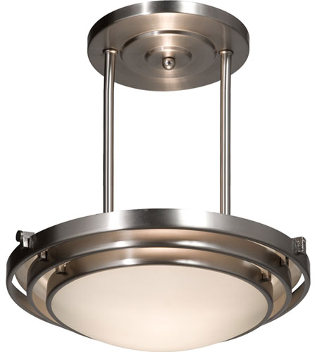 Artcraft Lighting Springfield 3 Light Pendant in Brushed Nickel AC2826BN photo