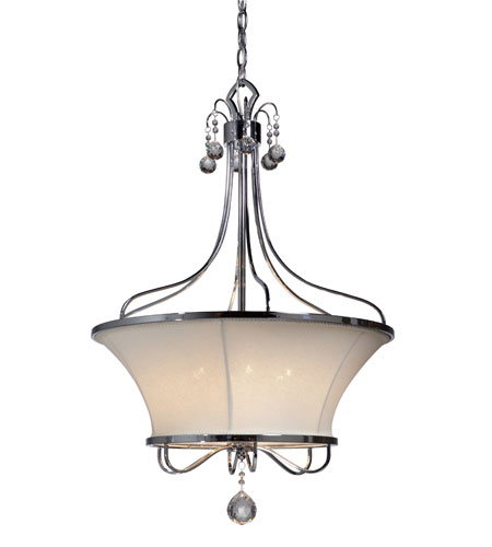 Artcraft Lighting Saint Tropez 6 Light Chandelier in Chrome AC3006 photo