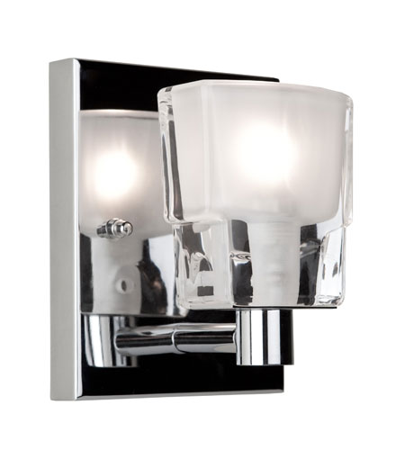 Artcraft Lighting Las Vegas 1 Light Bathroom Vanity in Chrome AC321CH photo