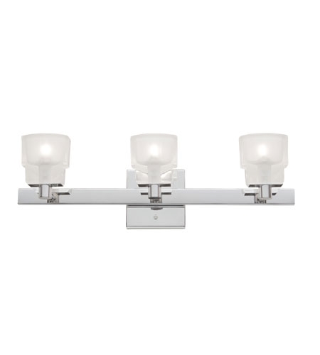 Artcraft Lighting Las Vegas 3 Light Bathroom Vanity in Chrome AC323CH photo