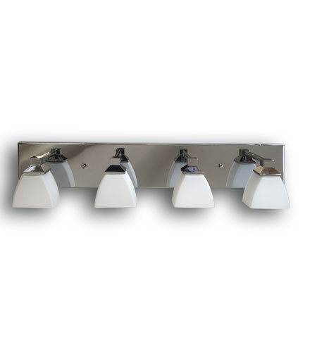 Artcraft AC3354CH Baltimore 4 Light 25 inch Chrome Bathroom Vanity Wall Light photo