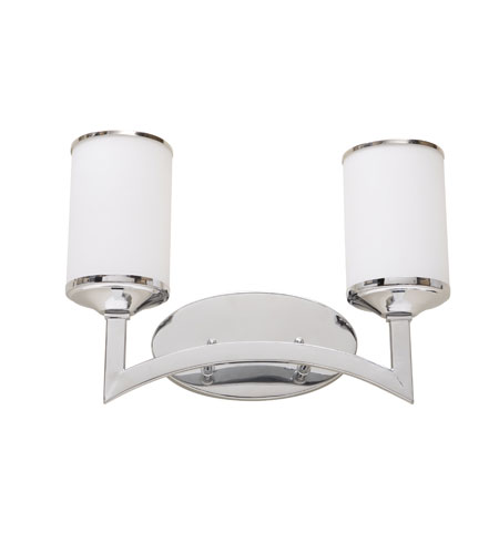 Artcraft Lighting Saturn 2 Light Bathroom Vanity in Chrome AC3602 photo
