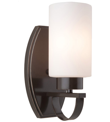 Artcraft Lighting Russell Hill 1 Light Wall Bracket in Oil Rubbed Bronze AC3791OB photo