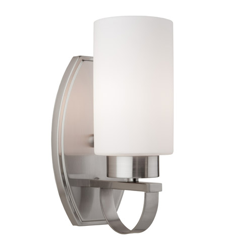 ARTCRAFT Russell Hill 1 Light Wall Bracket in Polished Nickel AC3791PN photo