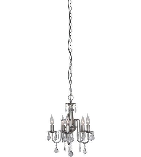 Artcraft Lighting Claremont 5 Light Chandelier in Polished Nickel AC385 photo
