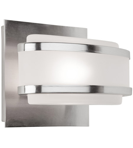 Artcraft Lighting Boulevard 1 Light Bathroom Vanity in Brushed Nickel AC531BN photo