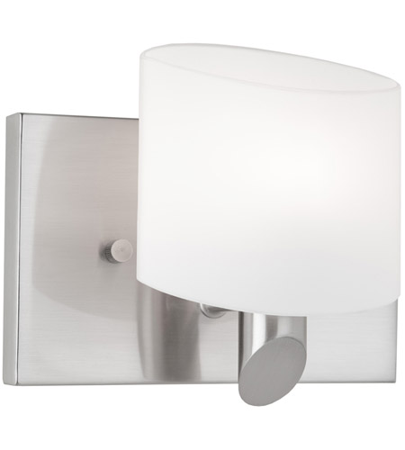 Artcraft AC5521BN Courtleigh 1 Light 5 inch Brushed Nickel Bathroom Vanity Wall Light photo