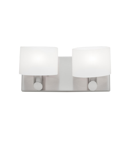 Artcraft AC5522BN Courtleigh 2 Light 12 inch Brushed Nickel Bathroom Vanity Wall Light photo