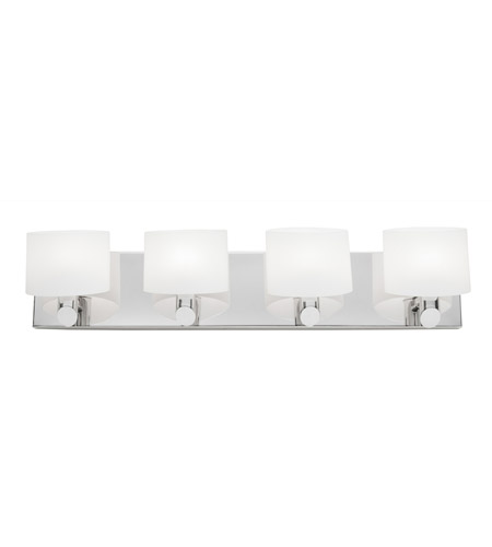 Artcraft Lighting Courtleigh 4 Light Bathroom Vanity in Chrome AC5524CH photo