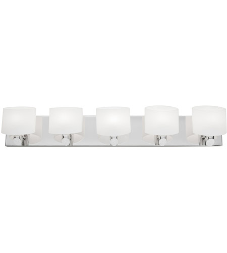 Artcraft Lighting Courtleigh 5 Light Bathroom Vanity in Chrome AC5525CH photo