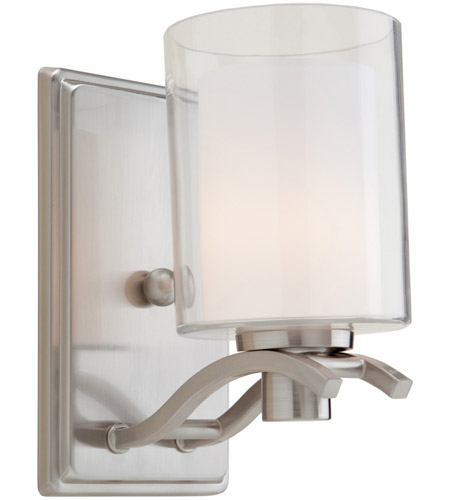 Artcraft AC5731PN Andover 1 Light 4 inch Polished Nickel Wall Bracket Wall Light photo