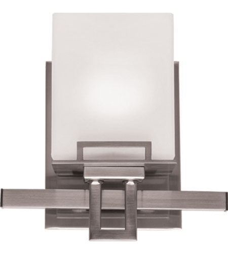 Artcraft Lighting Aspen 1 Light Bathroom Vanity in Polished Nickel AC5751PN photo
