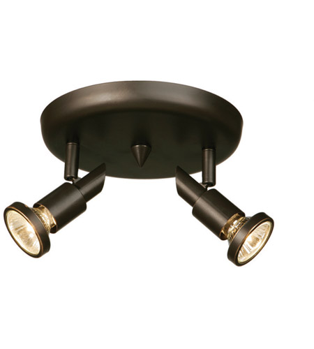 Artcraft AC5832OB Shuttle 2 Light Oil Rubbed Bronze Track Light Ceiling Light photo