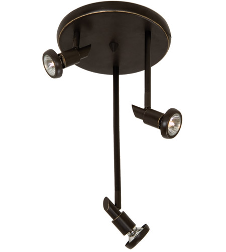 Artcraft AC5839OB Shuttle 3 Light Oil Rubbed Bronze Track Light Ceiling Light photo