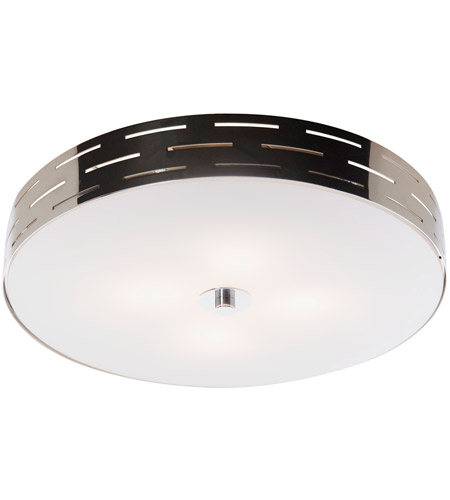 Artcraft AC6006 Seattle 4 Light 16 inch Chrome Flush Mount Ceiling Light photo