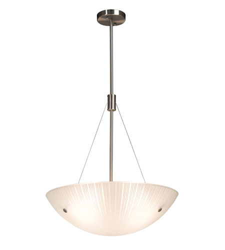 Artcraft AC6215 Signature 4 Light 20 inch Chrome Pendant Ceiling Light photo