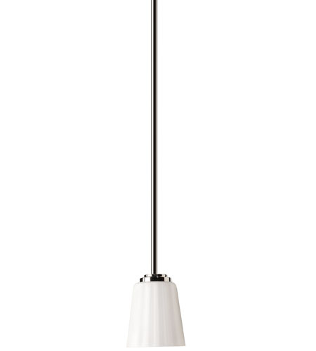 Artcraft Lighting Raleigh 1 Light Single Pendant in Chrome AC6575CH photo