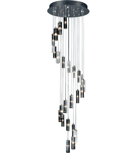 Artcraft Lighting Berkley 25 Light Crystal Chandelier in Chrome AC670BN photo