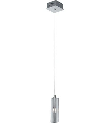 Artcraft Lighting Berkley 1 Light Single Pendant in Chrome AC671BN photo