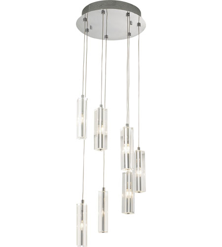 Artcraft Lighting Berkley 7 Light Crystal Chandelier in Chrome AC677BN photo