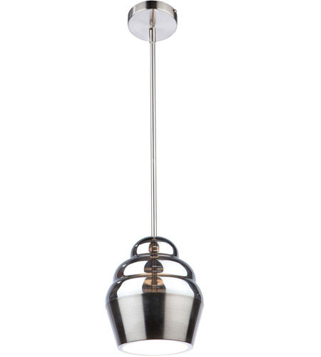 Artcraft AC7377 Lux LED 8 inch Brushed Nickel Pendant Ceiling Light photo thumbnail