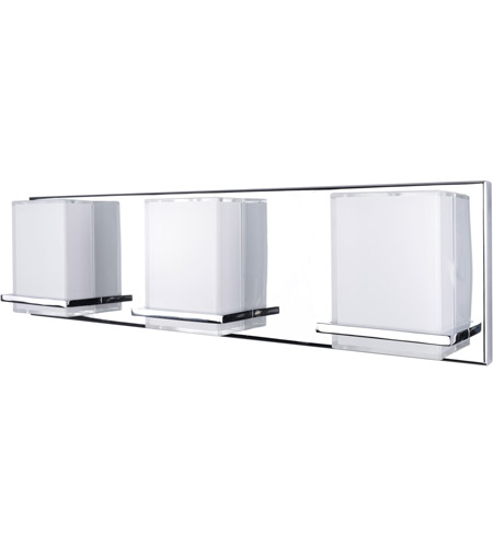 Artcraft Ac7493 Tranquility Led 20 Inch Chrome Bathroom Vanity