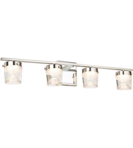 Artcraft Ac7664cb Newbury Led 31 Inch, Bathroom Wall Sconces Brushed Nickel