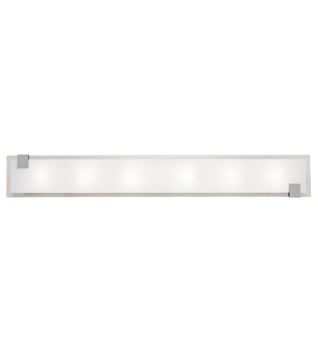 Artcraft Lighting Lakeshore 6 Light Bathroom Vanity in Chrome AC774 photo