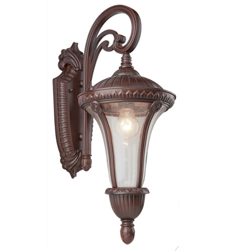 Artcraft Lighting Rio 1 Light Outdoor Wall in Mahogany AC8031MA photo