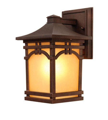 Artcraft Lighting Courtyard 1 Light Outdoor Wall in Oil Rubbed Bronze AC8051OB photo