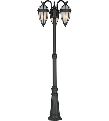 Artcraft Lighting Newport 3 Light Outdoor in Oil Rubbed Bronze AC8179OB photo