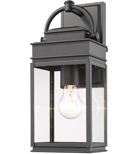Artcraft Black Fulton Outdoor Wall Lights