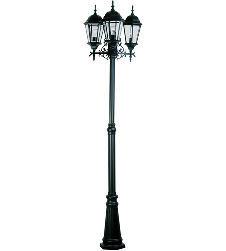 Artcraft Lighting Premiere 6 Light Outdoor in Black AC8249BK photo