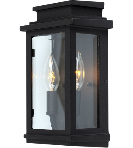Artcraft Ac8291bk Freemont 2 Light 11 Inch Black Outdoor Wall Sconce Photo