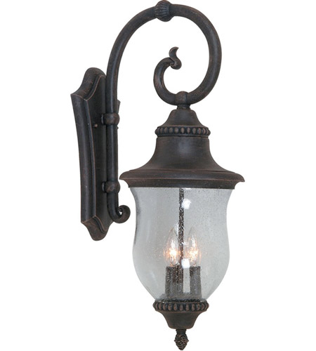 ARTCRAFT Premiere 3 Light Outdoor Wall Sconce in Bronze AC8381BZ photo