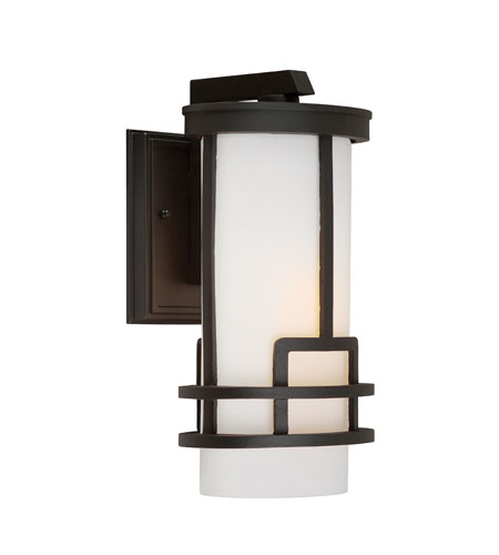 Artcraft AC8431BK Daytona 1 Light 11 inch Black Outdoor Wall photo