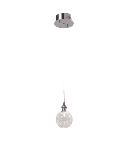 Artcraft Lighting Yale 1 Light Single Pendant with Glass Encased Metal Glass AC881 photo