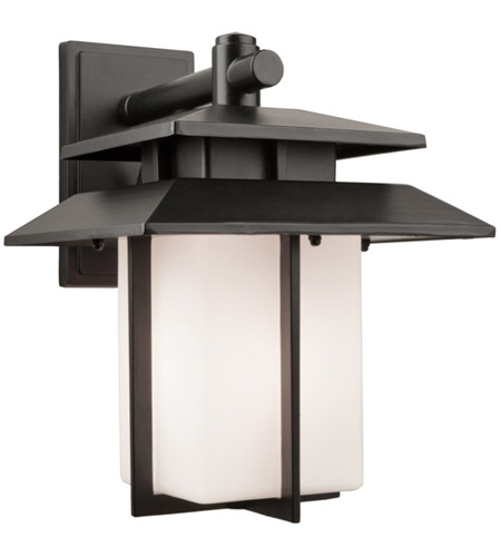 Artcraft Lighting Bayshore 1 Light Outdoor Wall in Black AC8941 photo